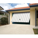 CARBAS isolation 40 mm - Porte de garage basculante