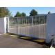 Portail industriel A45 Acier